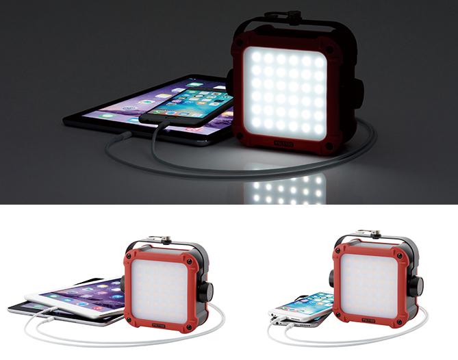 iPhone・iPad2台同時充電可能な大容量