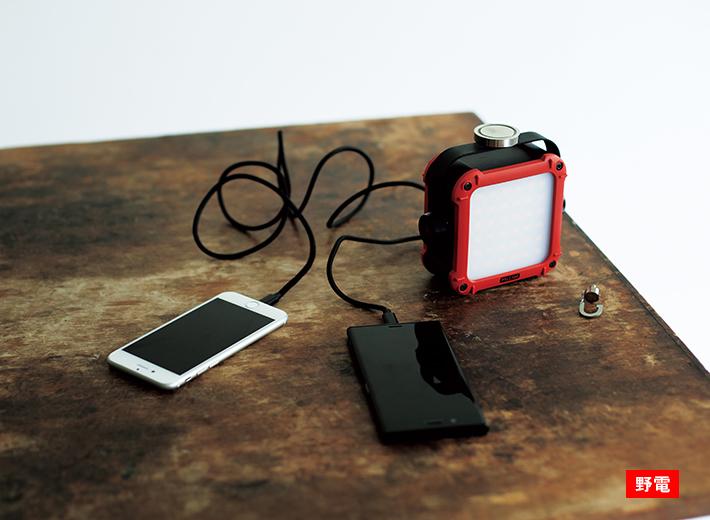 強力マグネット付きのフル装備モデル。驚異的な明るさの多電源対応蓄電式ランタン!
