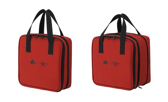 LOGOS×ALADDIN コラボアイテム!ガスボンベを持ち運ぶのにぴったりなバッグ