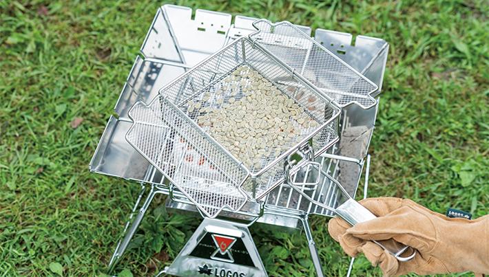 【調理例】コーヒー豆の焙煎