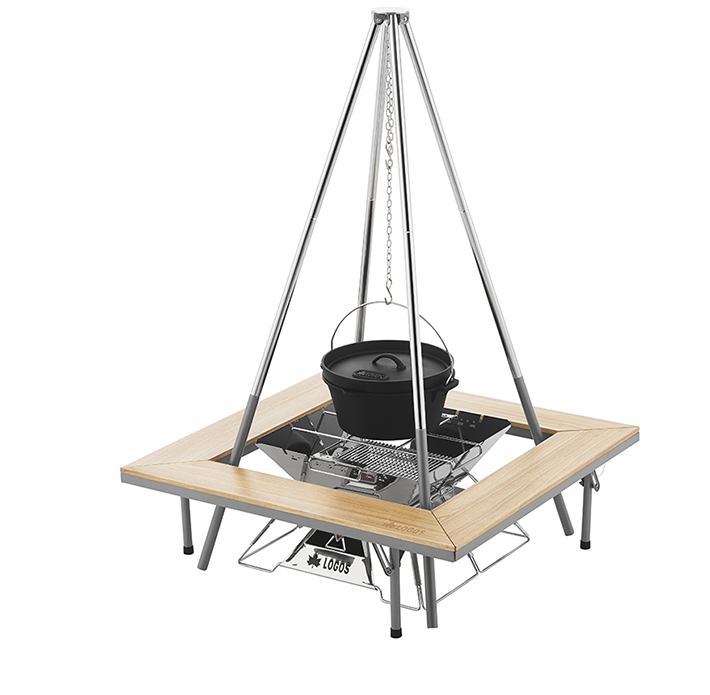 吊り鍋料理・囲炉裏スタイルも楽しめる!