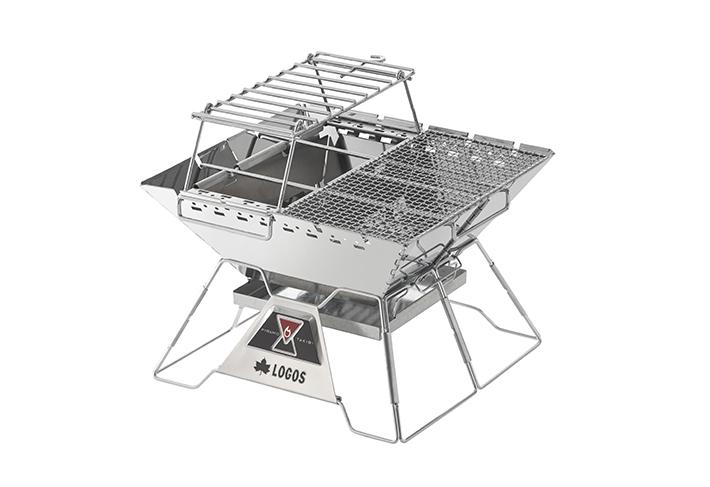 オプションパーツをフル装備!たき火&鍋料理&BBQが楽しめる