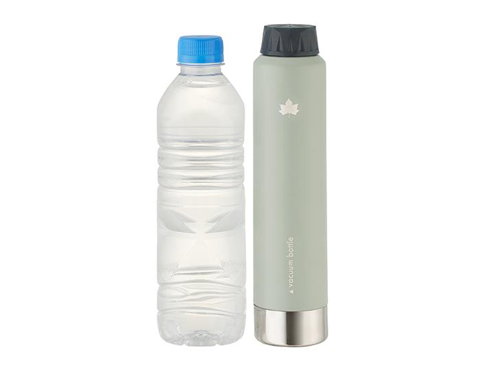 ペットボトル飲料の移し替えにも最適。