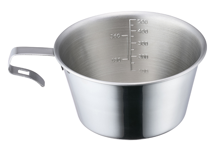 直火OK!調理にも使える大容量500mlの特大サイズ