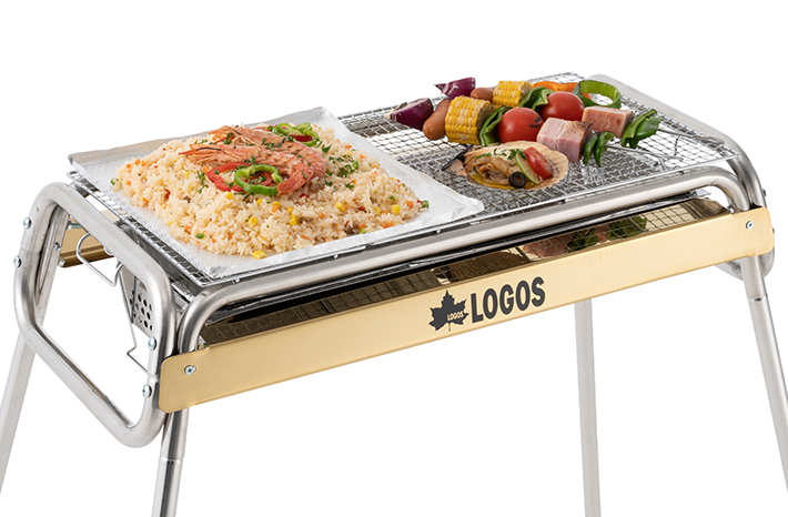 鉄板料理とBBQを 同時に楽しめる!