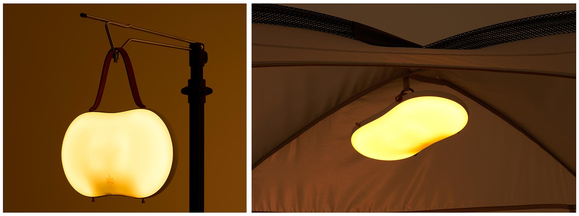 照明にもなる、ライトモード