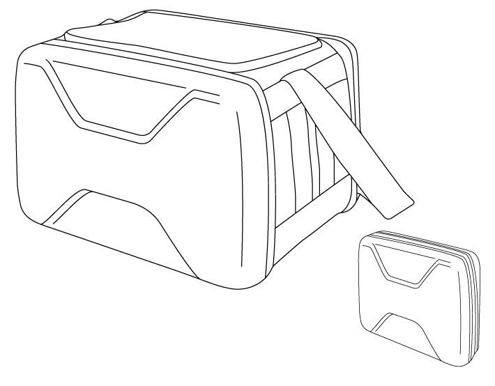 保冷能力が高く、コンパクトに収納できる独自の形