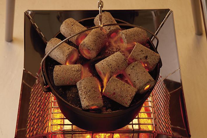 ダッチオーブン料理に最適!均一サイズだから個数で簡単火力調節!
