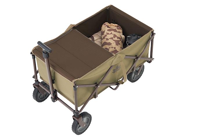 荷台のカバーは、荷物の目隠しに最適です。